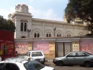 Slogans anti-chrétiens au Caire, Égypte