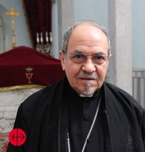 Egypt, Sohag, 17.02.2015 Bishop Youssef Aboul-Kheir (Jusef Abul-