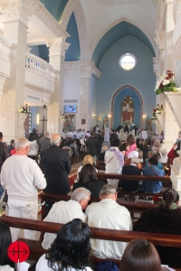 On february 15th 2015 the first Catholic church on Sinai peninsu