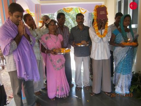 INDIA / BARODA 12/00058 Construction of 2 village chapels at Kap