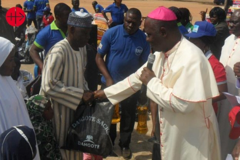 Distribution of relief materials to Internally Displaced Persons