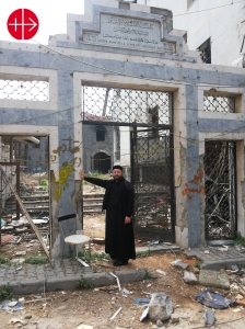 """St. Mayrs Church - Syrian Orthodox in Homs We will come back"""" i"""