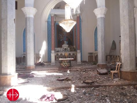 Catholic Holy Spirit Church in Homs