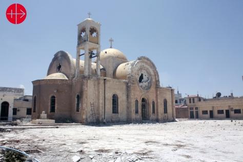 SYRIA / HOMS-MLC 15/00038 Help for Quseir (church, catechism cen