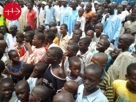 Nigeria, Maiduguri diocese 2014 Displaced kids